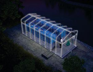 Integrated Membrane Sewage Disposal System img2 mesin biogas